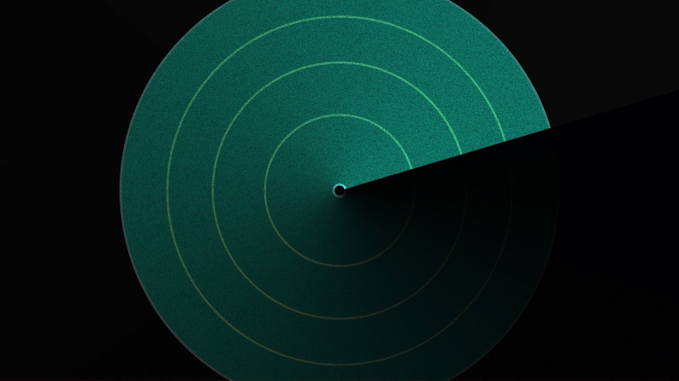 Conceptual illustration of radar