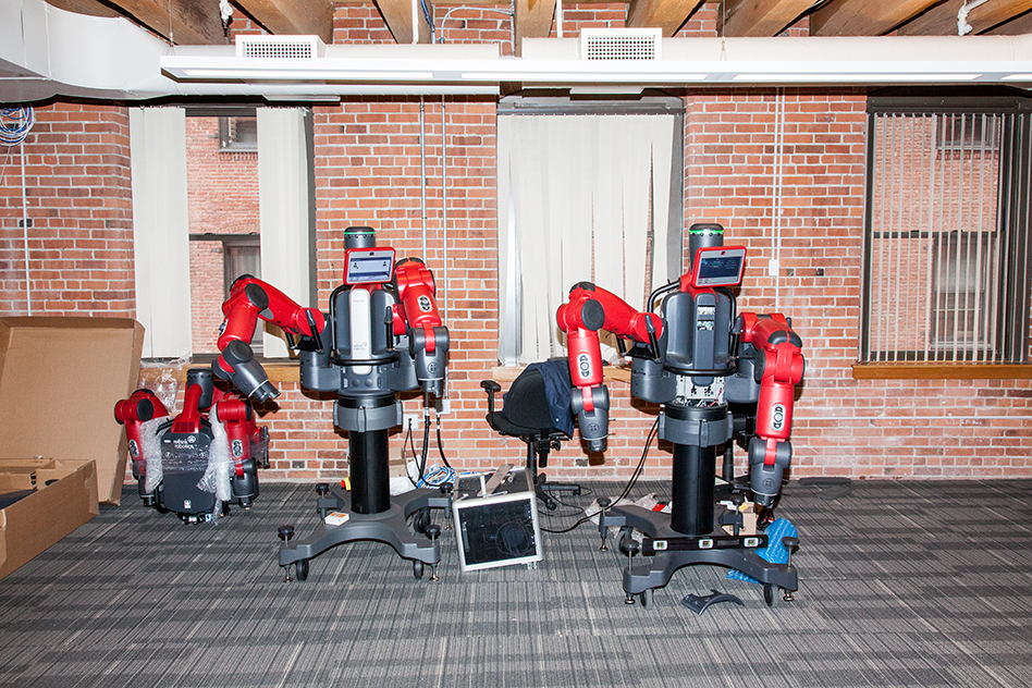 baxter manufacturing essay Tech — hands-on with baxter, the factory robot of the future the $25,000 bot performs tasks by learning from a human—no programming needed.