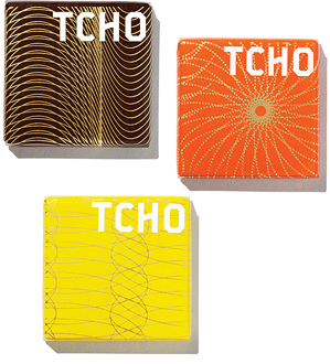 Tcho chocolate squares