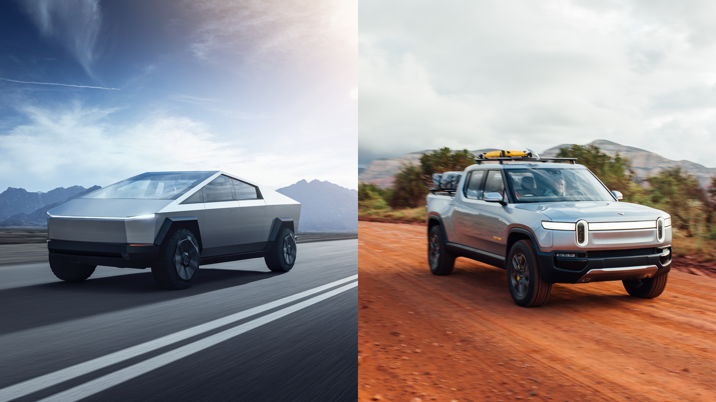 Rivian's New Electric Truck is Like a Tank - When Turning