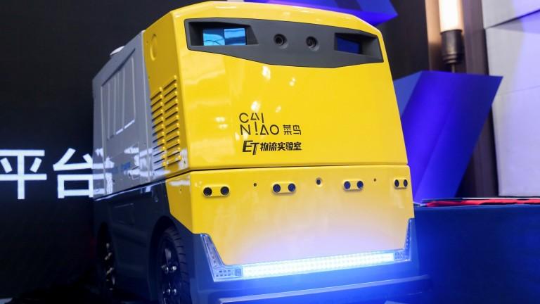 RoboSense's delivery vehicle