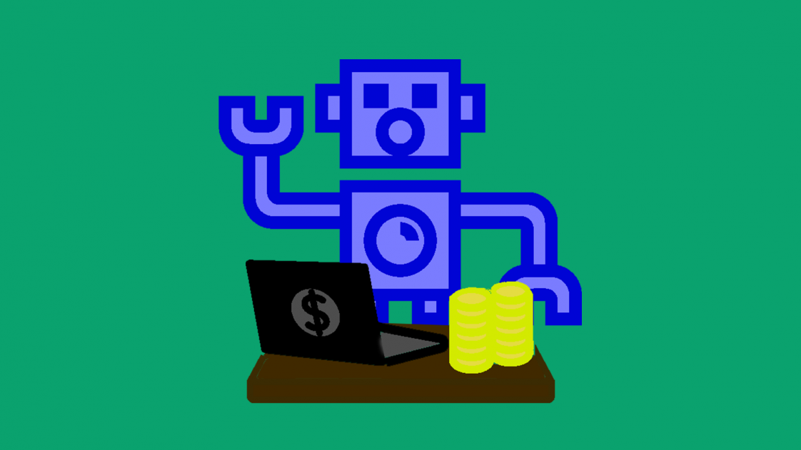 robot banker