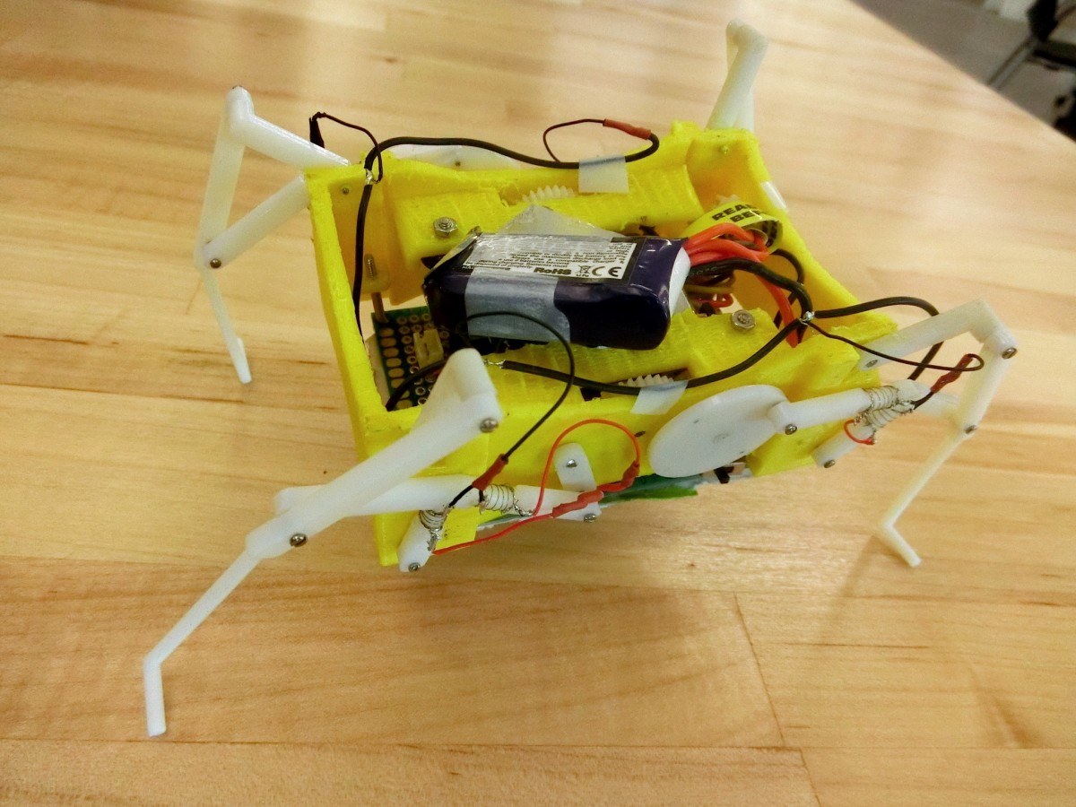This robot can melt and re-form its legs to change how it walks