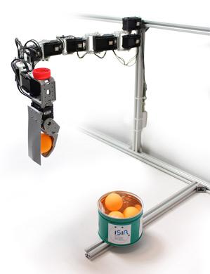undamaged robotic arm
