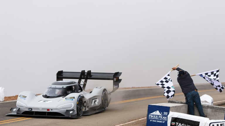 Volkswagen Pikes Peak electric car