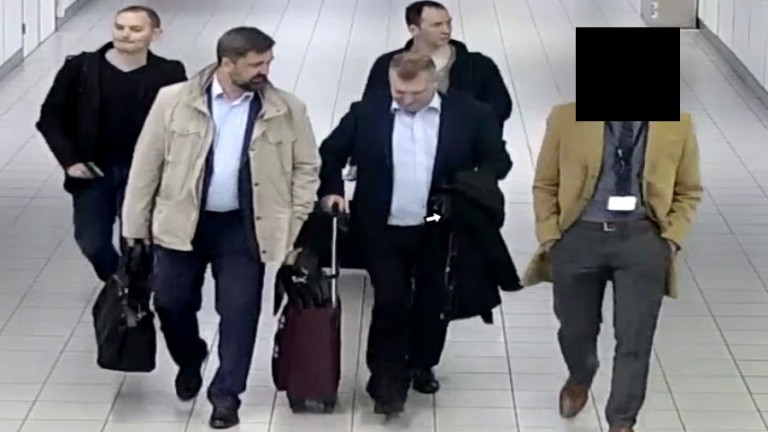 The four suspects in a picture released by Ditch police