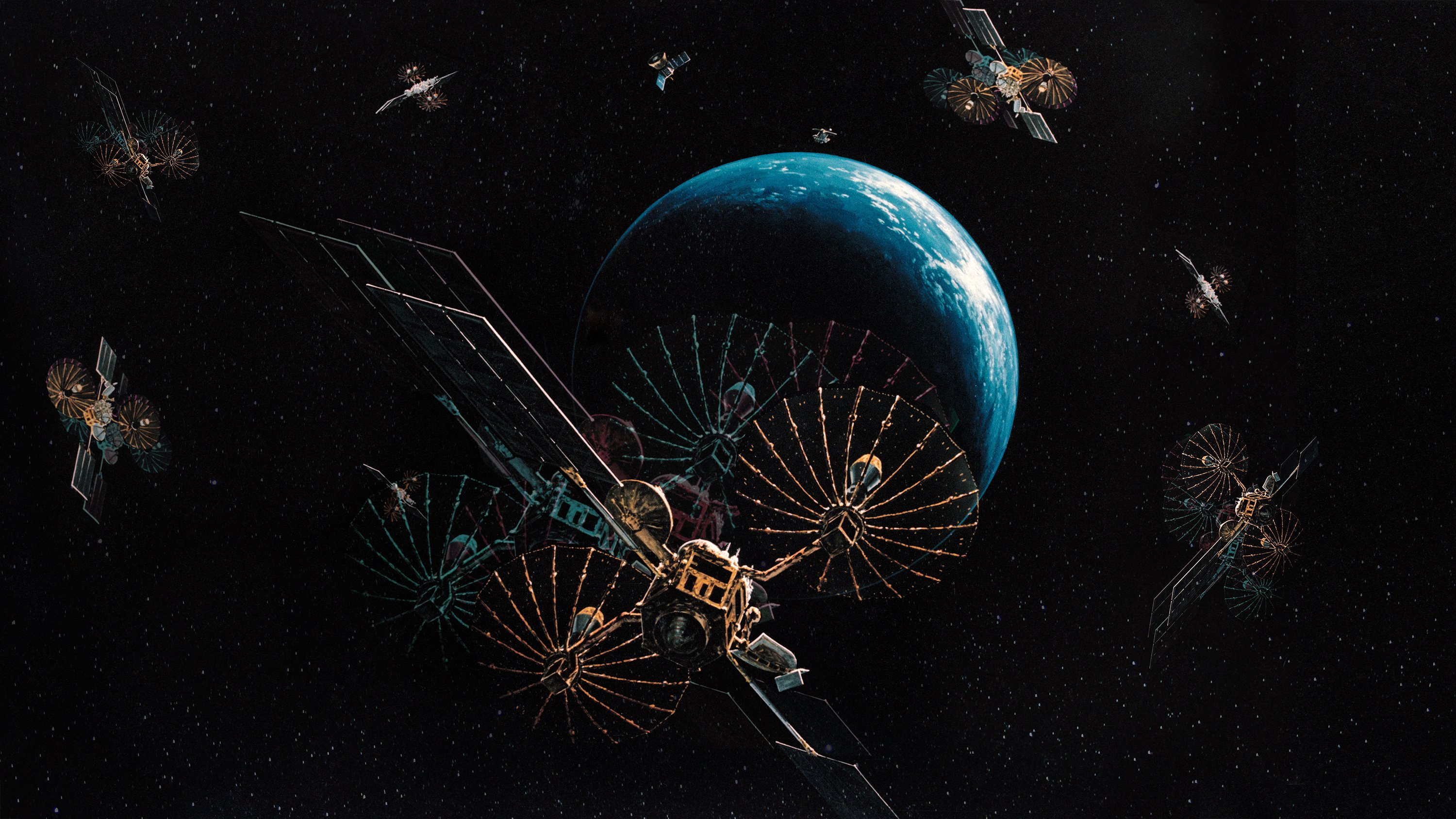 Why the quantum internet should be built in space