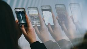 screenshots of device activity