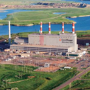 SaskPower plant