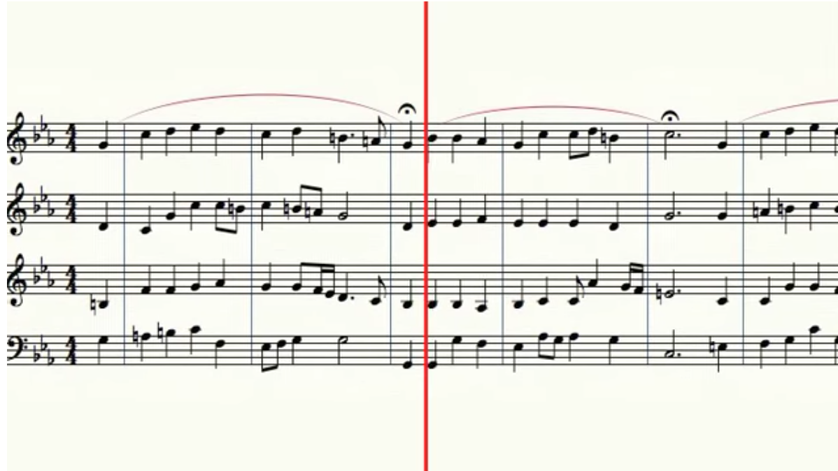 Listen to this classical music composed in the style of Bach by a deep-learning machine
