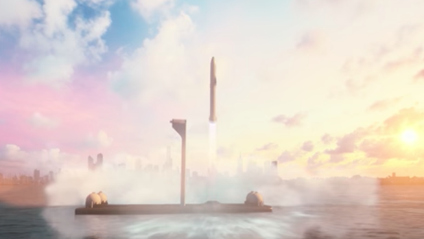 SpaceX has plan for a very large rocket