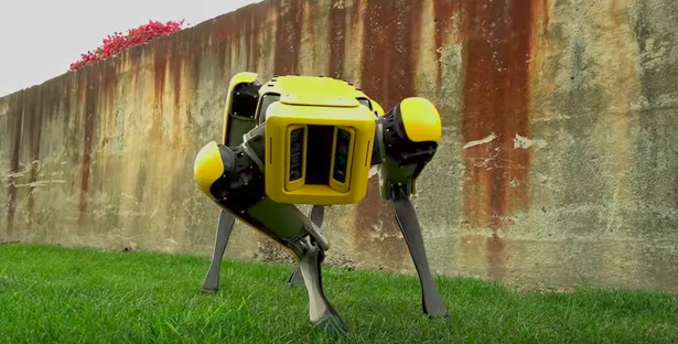 The new Boston Dynamics robot moves with almost feline elegance.