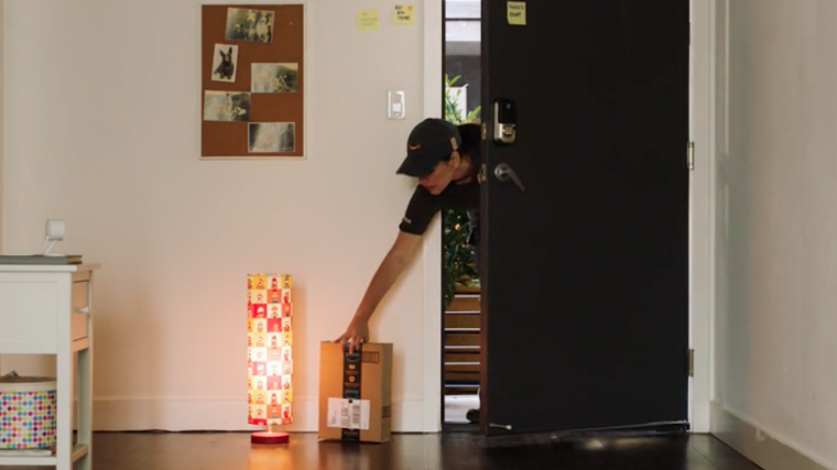 Amazon Key lets delivery folks enter your home.