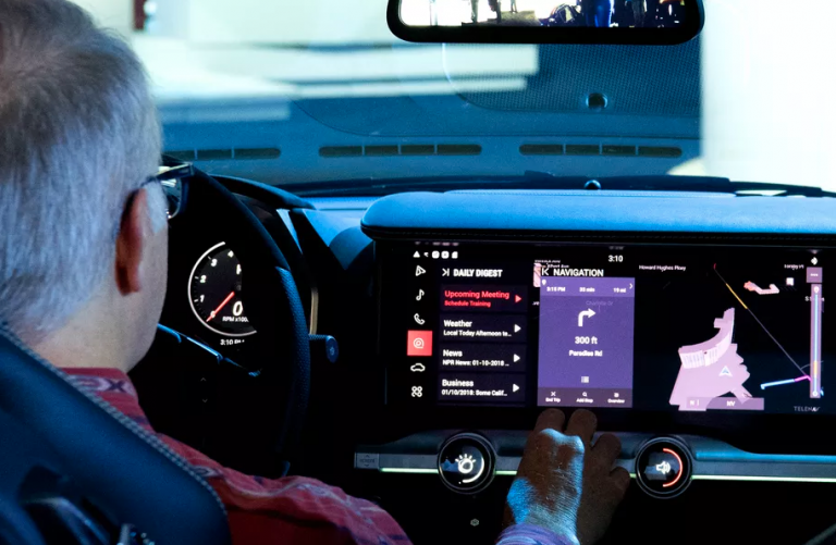 IBM's assistant in a Maserati dash