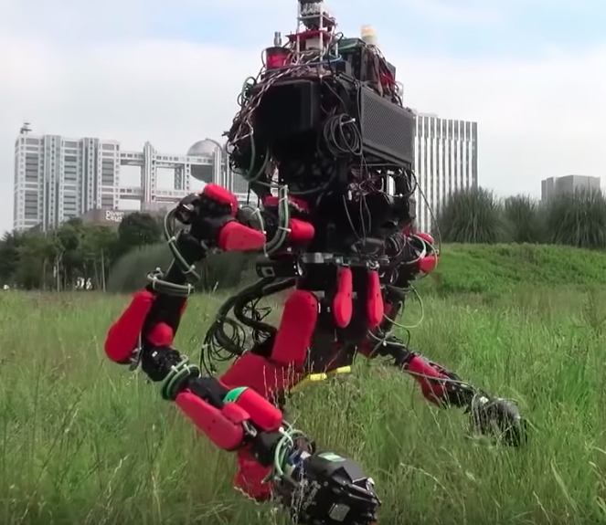 The Schaft robot.