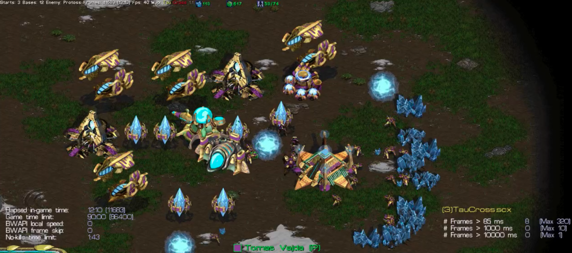 An old-fashioned AI has won a Starcraft shootout