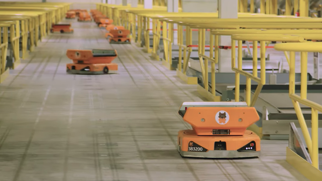 Forget drones, Amazon's real robot innovation is in the warehouse