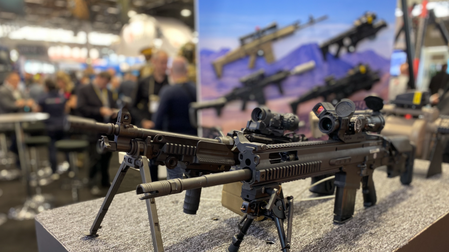 Milipol weapons