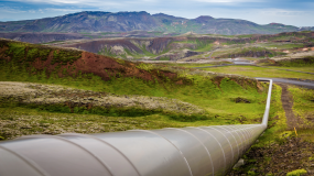 Pipeline in Iceland