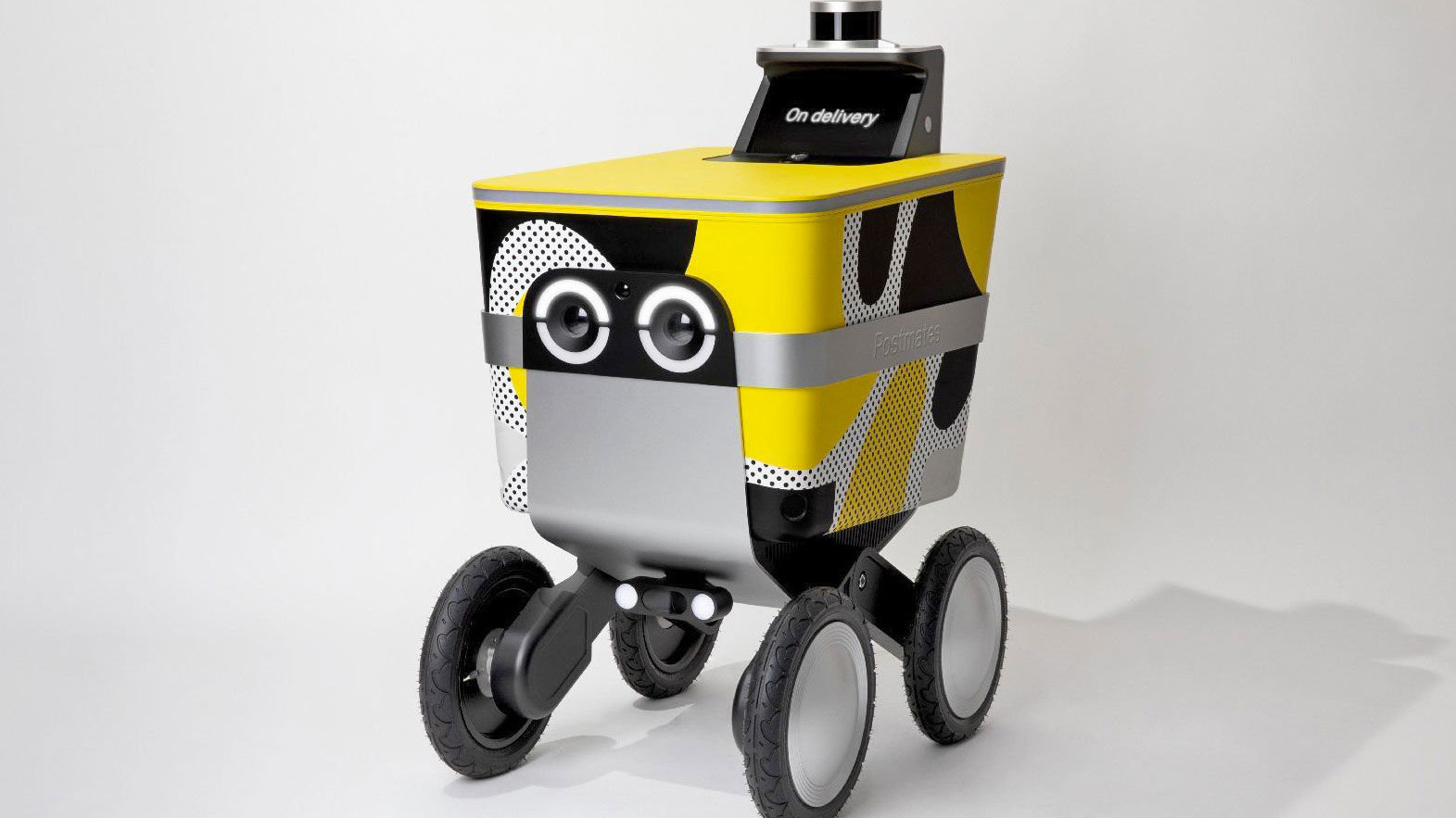 Postmates has launched a delivery robot that will bring lunch to your door