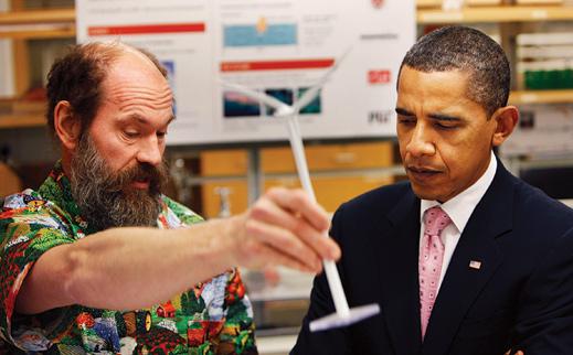 Professor Slocum and President Obama