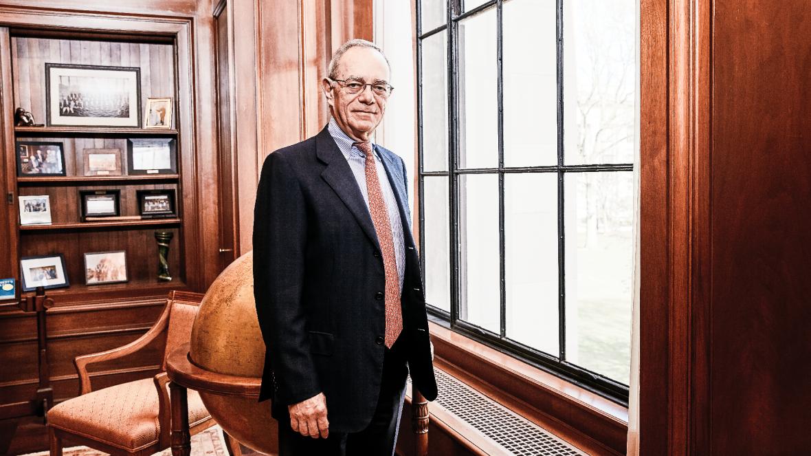 Photo of MIT president L Rafael Reif