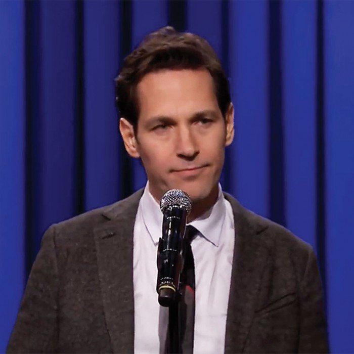 Screengrab of Paul Rudd on The Tonight Show with Jimmy Fallon.