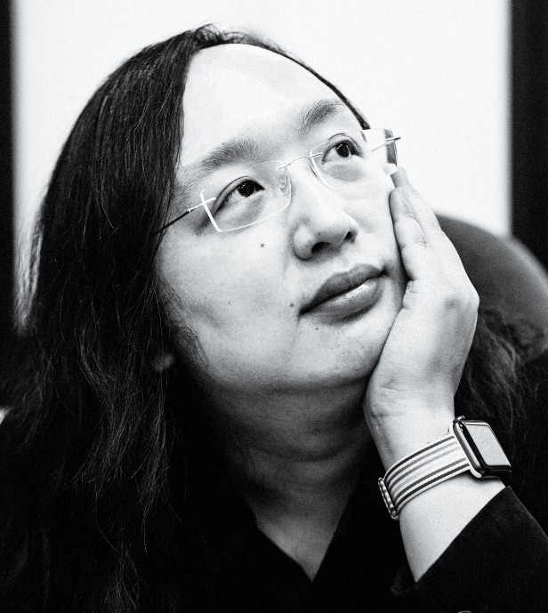 Portrait photograph of Audrey Tang