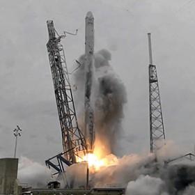 Shuttle launching