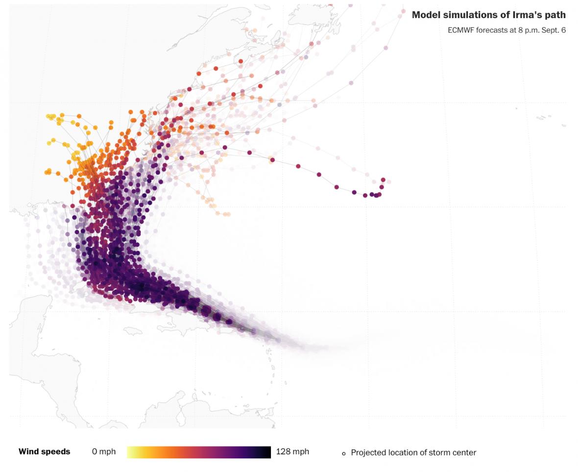 Satellite capture of Hurricane Harvey