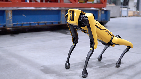 Boston Dynamics' dog robot Spot is going to patrol an oil rig in Norway