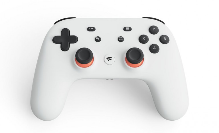The Stadia gaming contoller