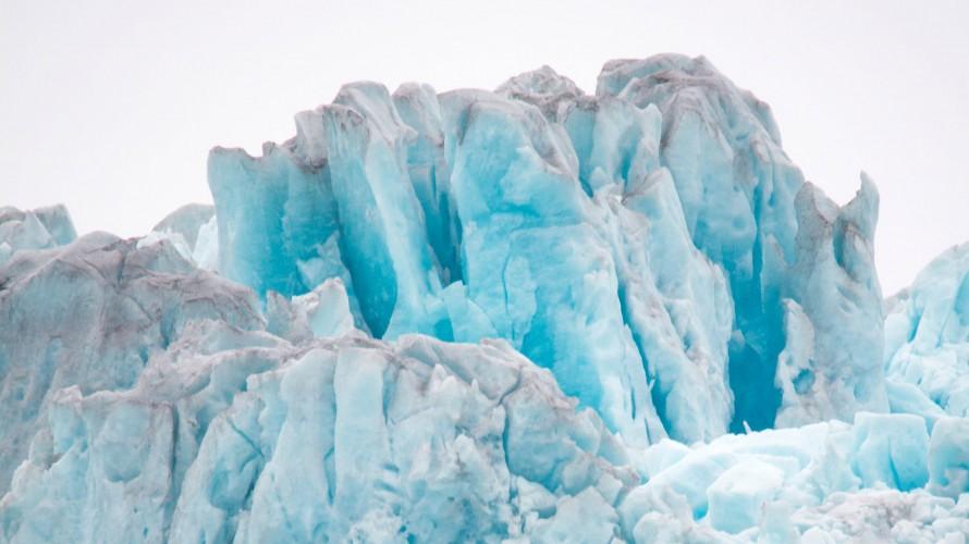 image of a melting glacier