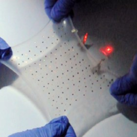 image of a stretchable battery