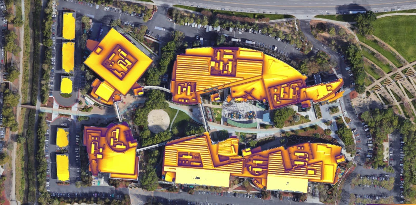 Google's New Tool Says Nearly 80 Percent of Roofs Are Sunny Enough for Solar Panels