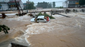 Storm surge in China