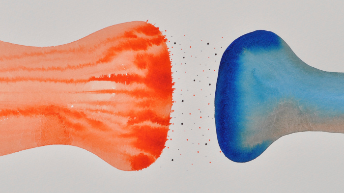 Illustration of synapse