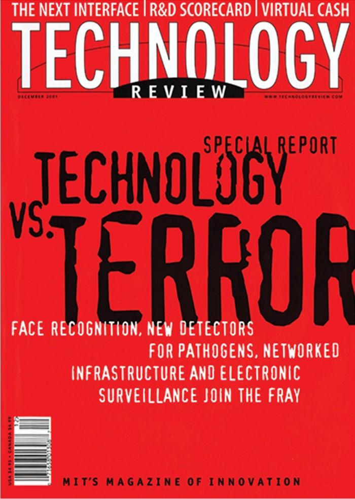 December 2001 Technology vs Terror