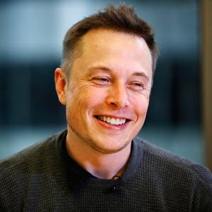 Elon Musk of Tesla