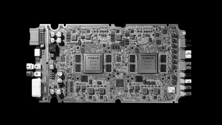Tesla's full self-driving computer board