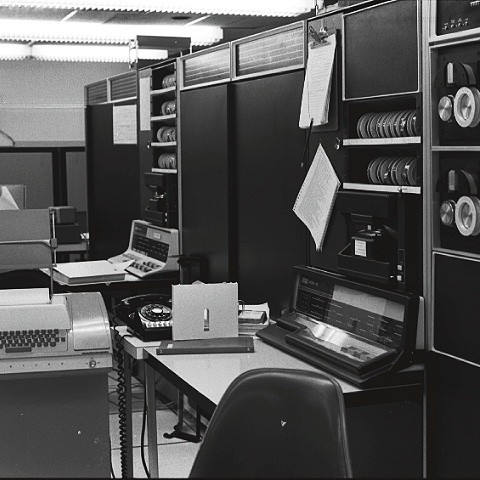 Office equipment at BBNA