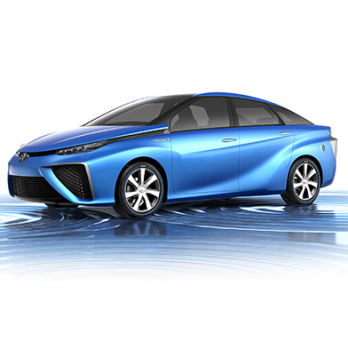 How Toyota Will Be First With a Fuel-Cell Car