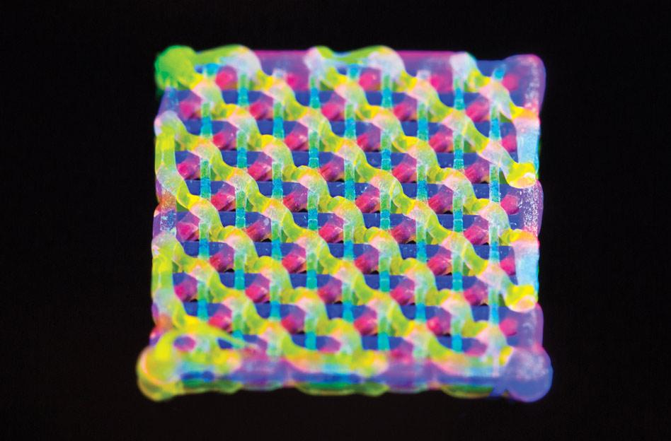 Microscale 3-D Printing