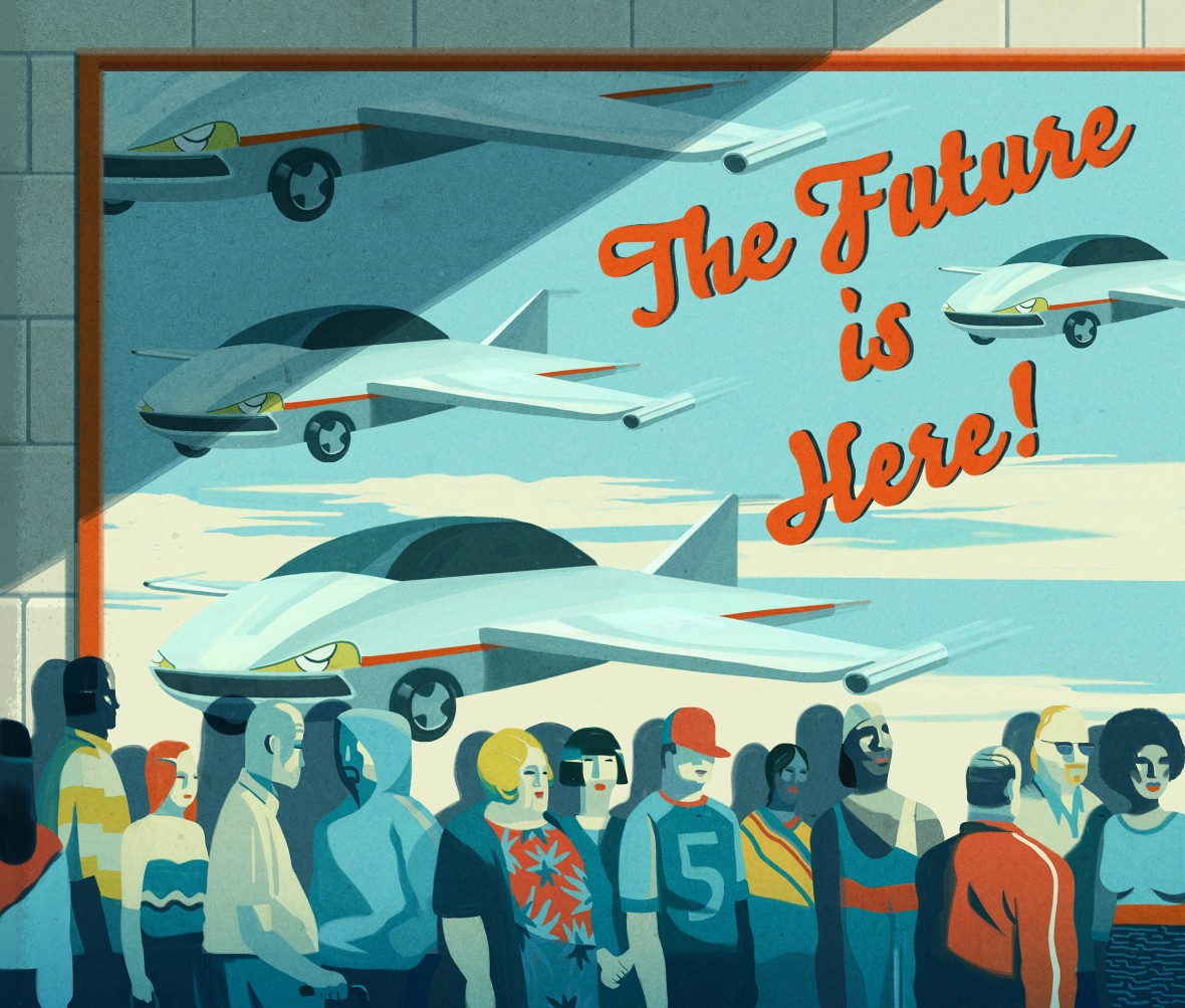 Dear Silicon Valley: Forget Flying Cars, Give Us Economic Growth