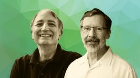 Computer scientists Edwin Catmull and Patrick Hanrahan