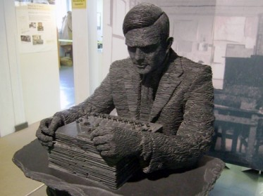 statue of alan turing