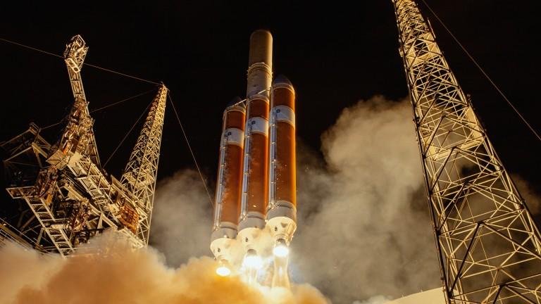 Delta IV Parker Probe launch