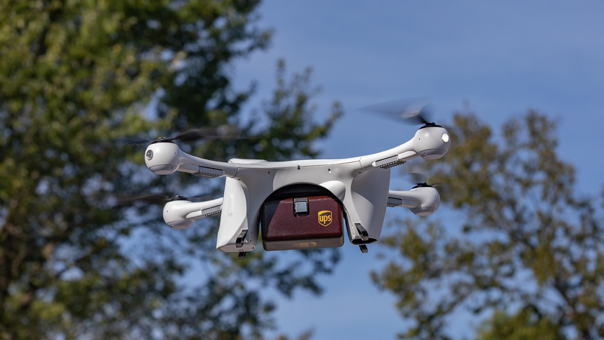 UPS has won approval to run the first drone delivery airline in the US