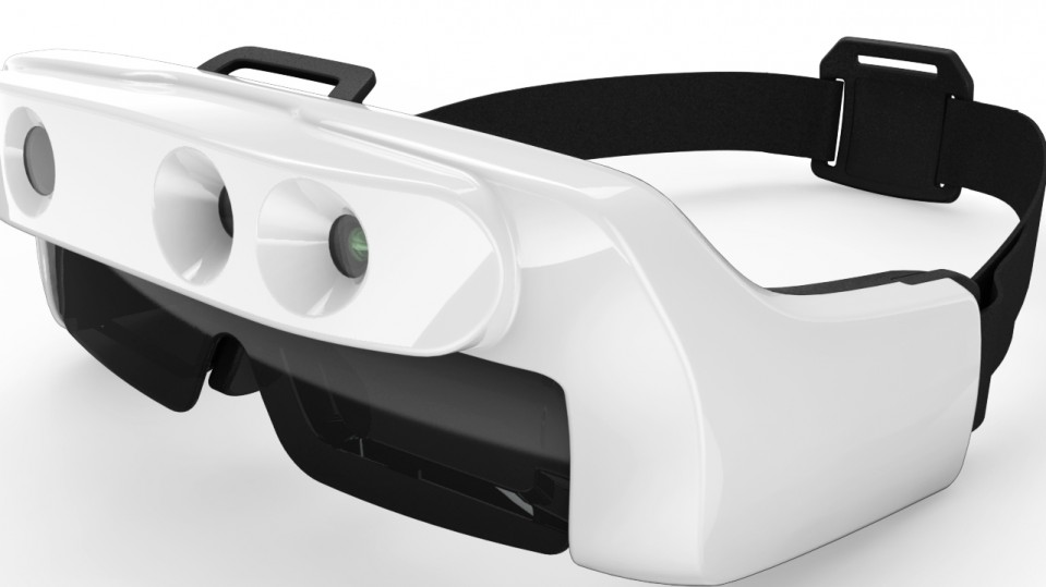 68093555a9ac Startup VA-ST thinks its depth-sensing glasses can help people with little  sight get around more easily.