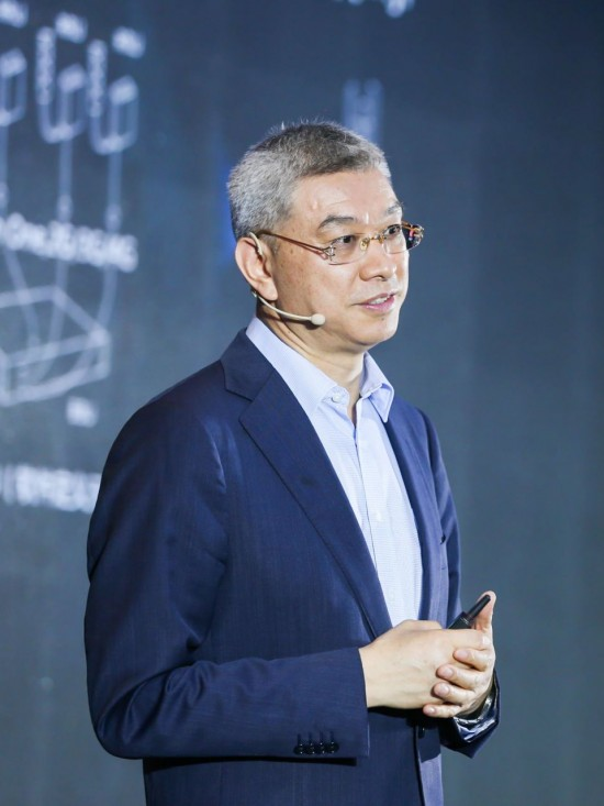 Xu Wenwei, the president of Huawei's the Institute of Strategic Research